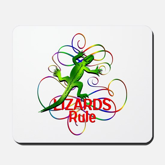 Lizards Rule Mousepad