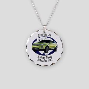 Range Rover Evoque Necklace Circle Charm