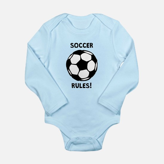 Soccer Rules! Body Suit