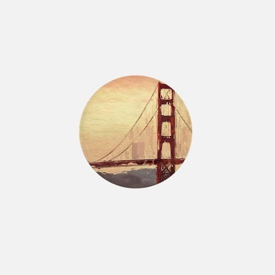 Golden Gate Bridge Inspiration Mini Button