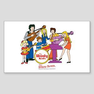 The Brady Kids Sticker (Rectangle)