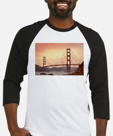 Golden Gate Bridge Inspiration Baseball Jersey