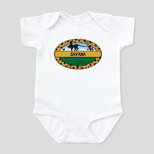 SAVANA - safari Infant Bodysuit