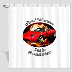 Tesla Roadster Shower Curtain