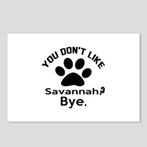 You Do Not Like savannah Postcards (Package of 8)