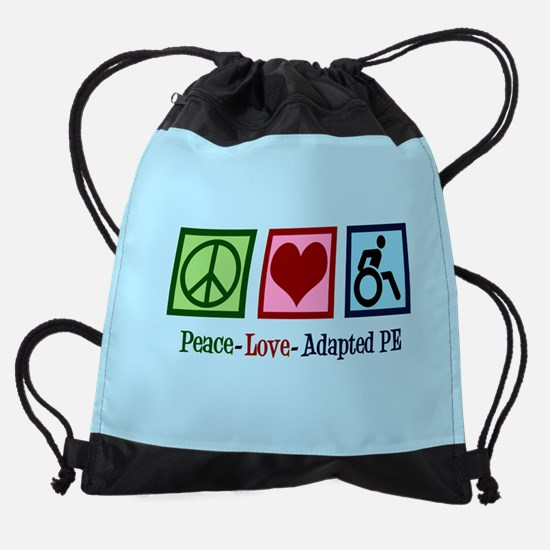 Adapted PE Teacher Drawstring Bag