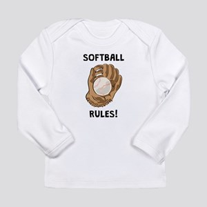 Softball Rules! Long Sleeve T-Shirt