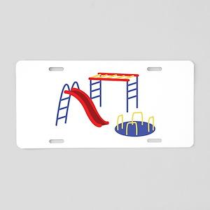 Playground Equipment Aluminum License Plate