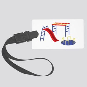 Playground Equipment Luggage Tag