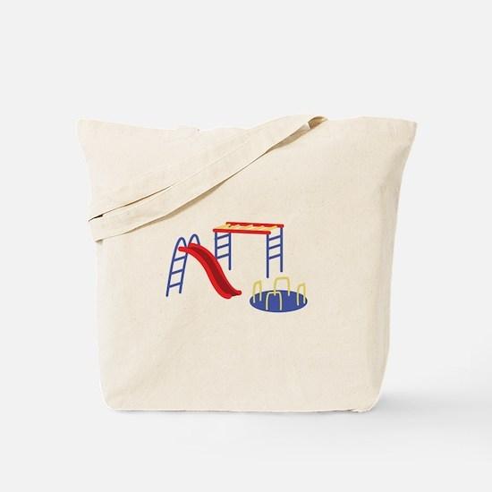 Playground Equipment Tote Bag