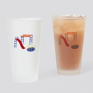 Playground Equipment Drinking Glass