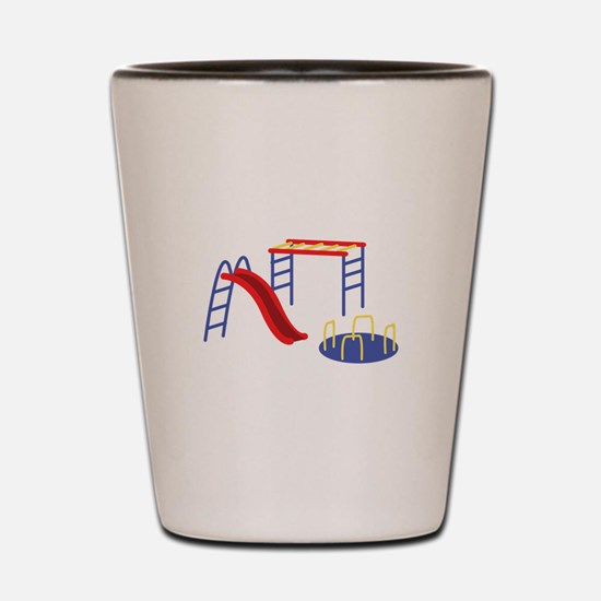 Playground Equipment Shot Glass