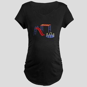 Playground Equipment Maternity T-Shirt