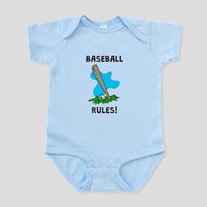 Baseball Rules! Body Suit
