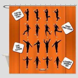 Arrested Development Chicken Dance Shower Curtain
