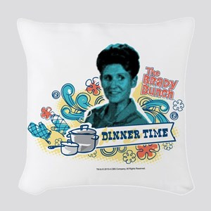 The Brady Bunch: Alice Woven Throw Pillow