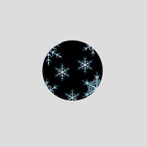 Snowflakes Kind of Night Mini Button