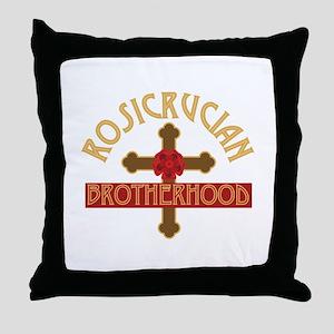 Rosicrucian Brotherhood Throw Pillow