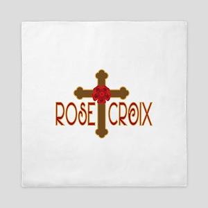 Rose Croix Queen Duvet