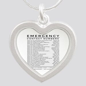bible emergency number Necklaces