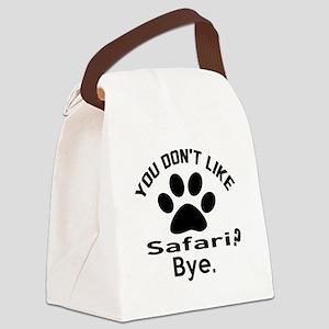 You Do Not Like safari ? Bye Canvas Lunch Bag