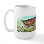 Large Coho Spawners Mug