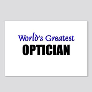 Worlds Greatest OPTICIAN Postcards (Package of 8)