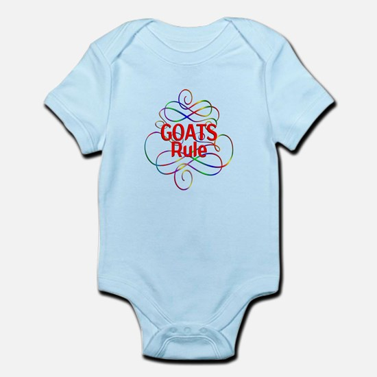 Goats Rule Infant Bodysuit