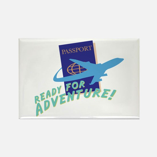 Ready For Adventure Magnets