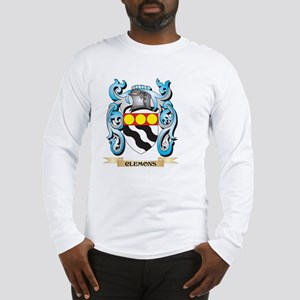 Clemons Coat of Arms - Family Long Sleeve T-Shirt