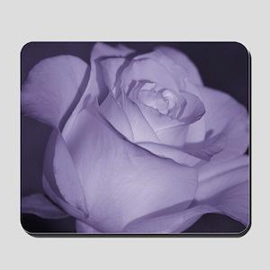 Purple Tint Rose Mousepad