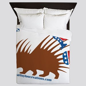 Stay out of my business! Queen Duvet