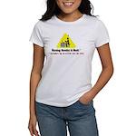 Warning: Novelist at Work Women's T-Shirt