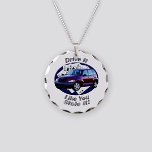 Chrysler PT Cruiser Necklace Circle Charm