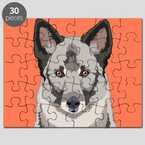 Norwegian Elkhound Puzzle