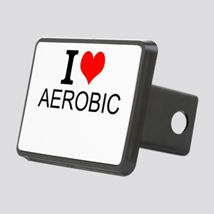 I Love Aerobics Hitch Cover