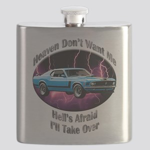 Ford Mustang Boss 302 Flask