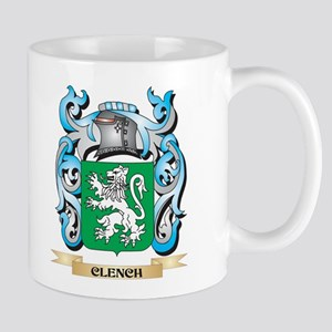 Clench Coat of Arms - Family Crest Mugs