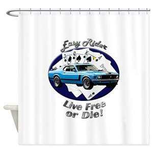 Ford Mustang Shower Curtains