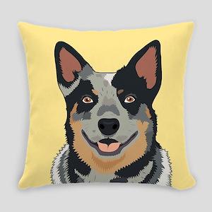 Australian Cattle Dog Everyday Pillow