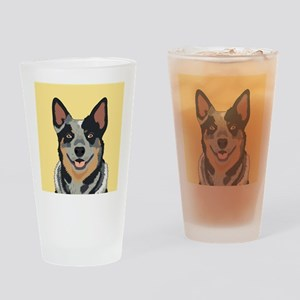Australian Cattle Dog Drinking Glass