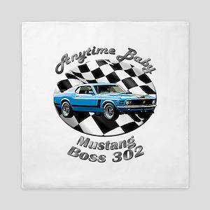 Ford Mustang Boss 302 Queen Duvet