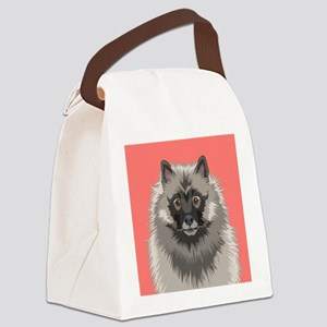 Keeshond Canvas Lunch Bag