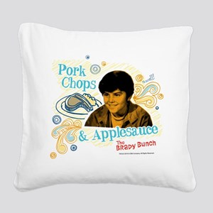 The Brady Bunch: Bobby Square Canvas Pillow