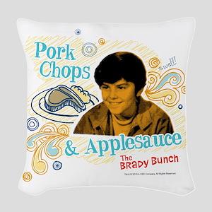 The Brady Bunch: Bobby Woven Throw Pillow