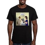 Turkey Escape Men's Fitted T-Shirt (dark)