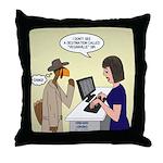 Turkey Escape Throw Pillow
