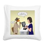Turkey Escape Square Canvas Pillow