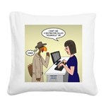 Turkey Escape Square Canvas Pillow