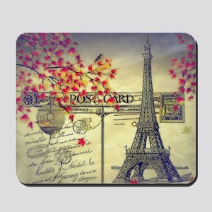 Autumn in Paris Mousepad